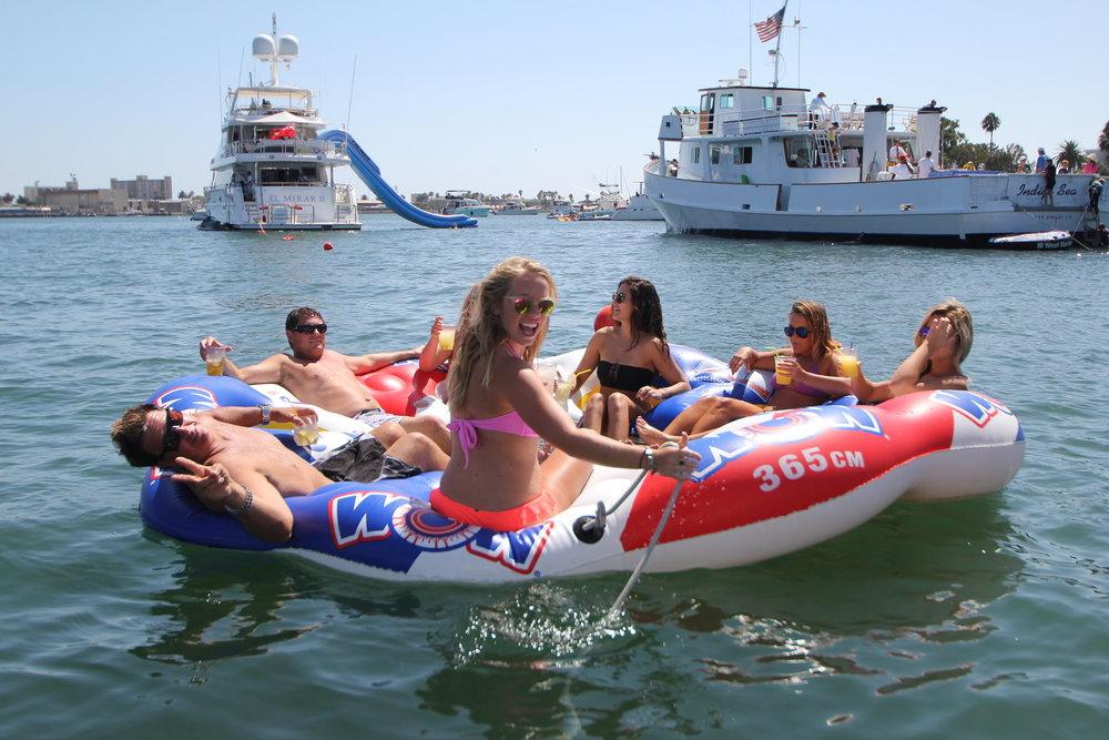 San Diego Bay swim parties