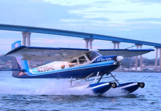 san diego seaplane adventures fly over san diego bay
