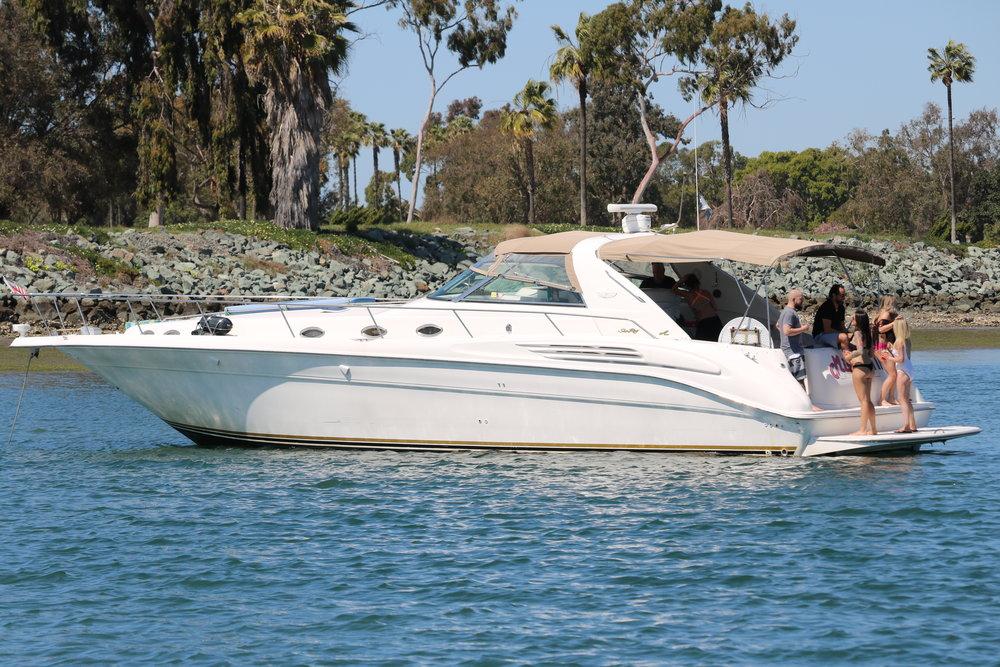 San Diego Yacht Charter, Booze Cruise