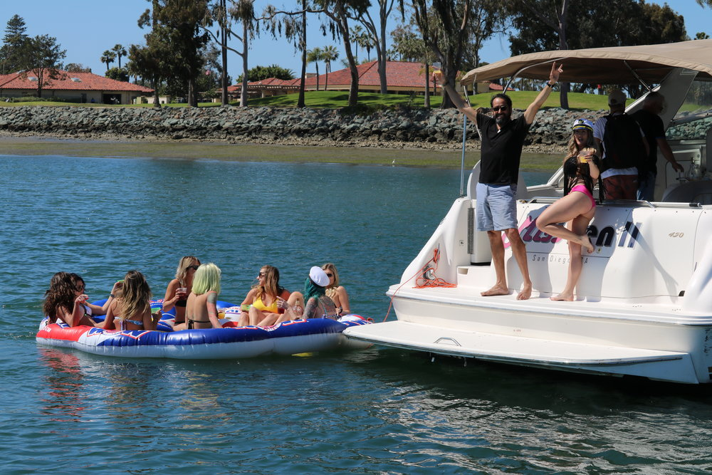 Booze Cruise, San Diego Yacht Party