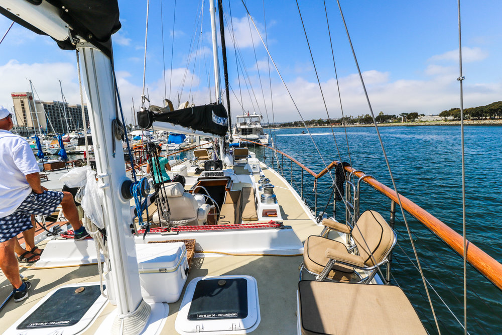 San Diego Sailboat Charters