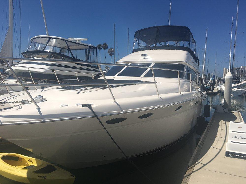 46 sea ray san diego yacht charters