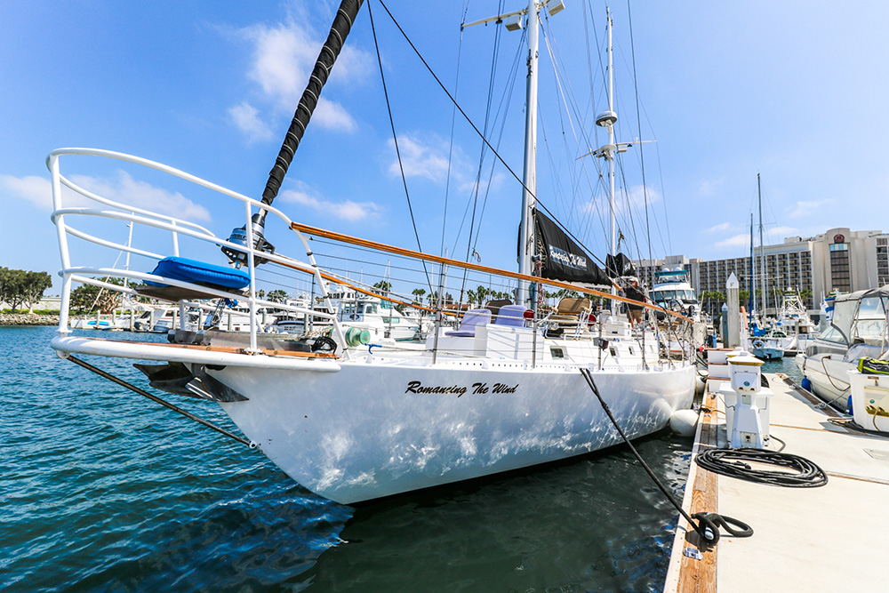 sailing on san diego bay