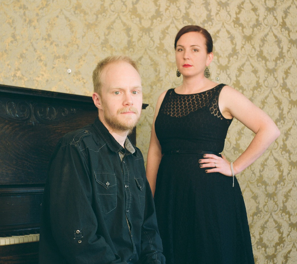 The Sparrow and the Fall   This Denver-based married duo makes piano-driven indie folk-pop music.  Website