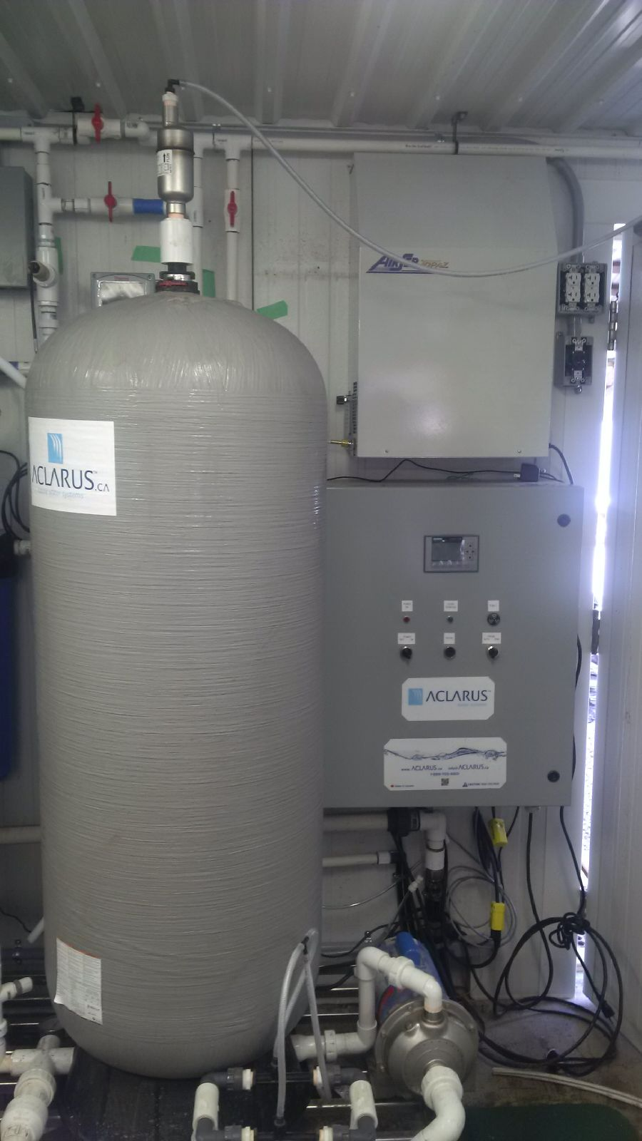 Organic Farm Ozone Sanitizer and Treatment System