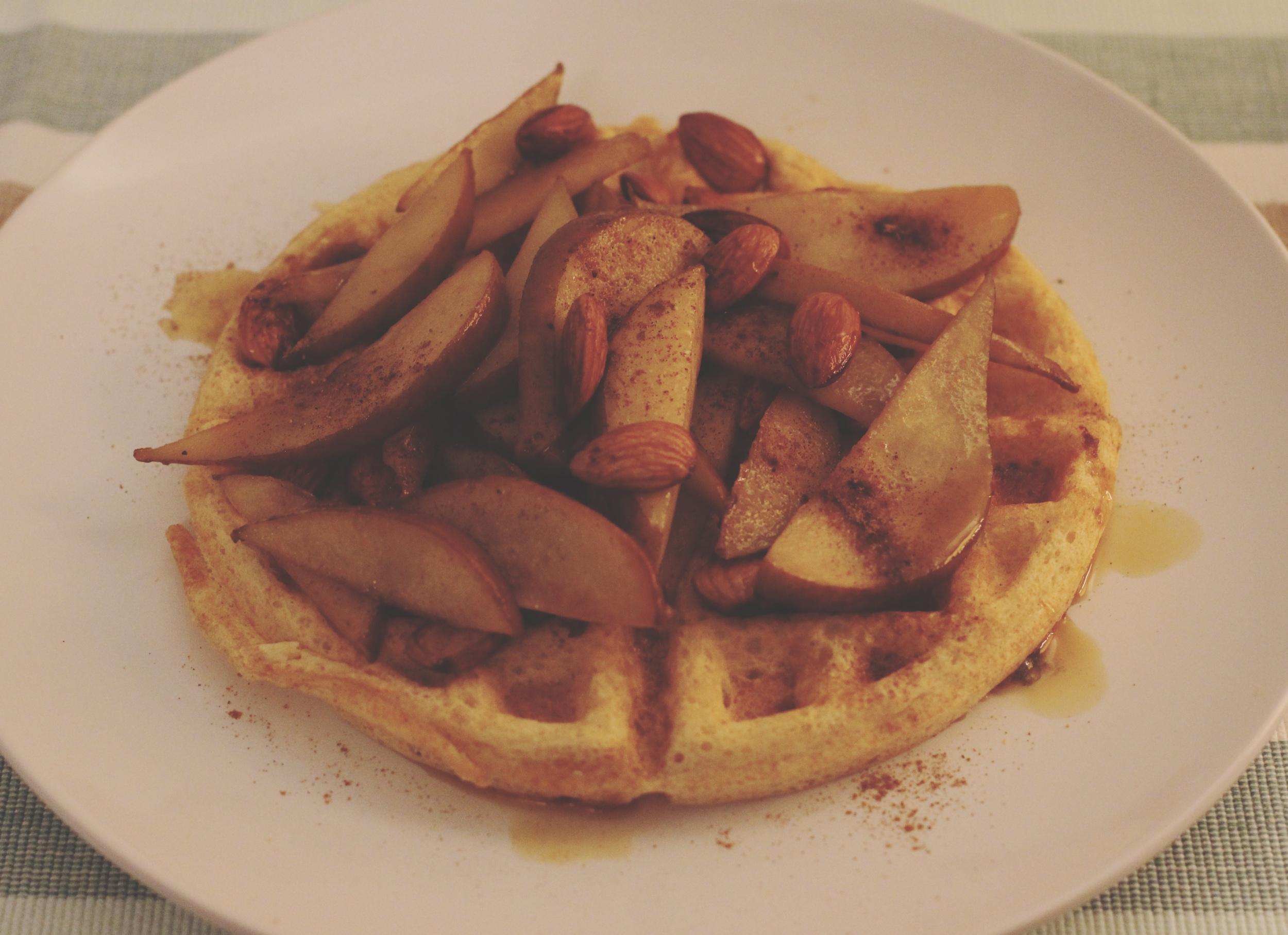 pears waffle1