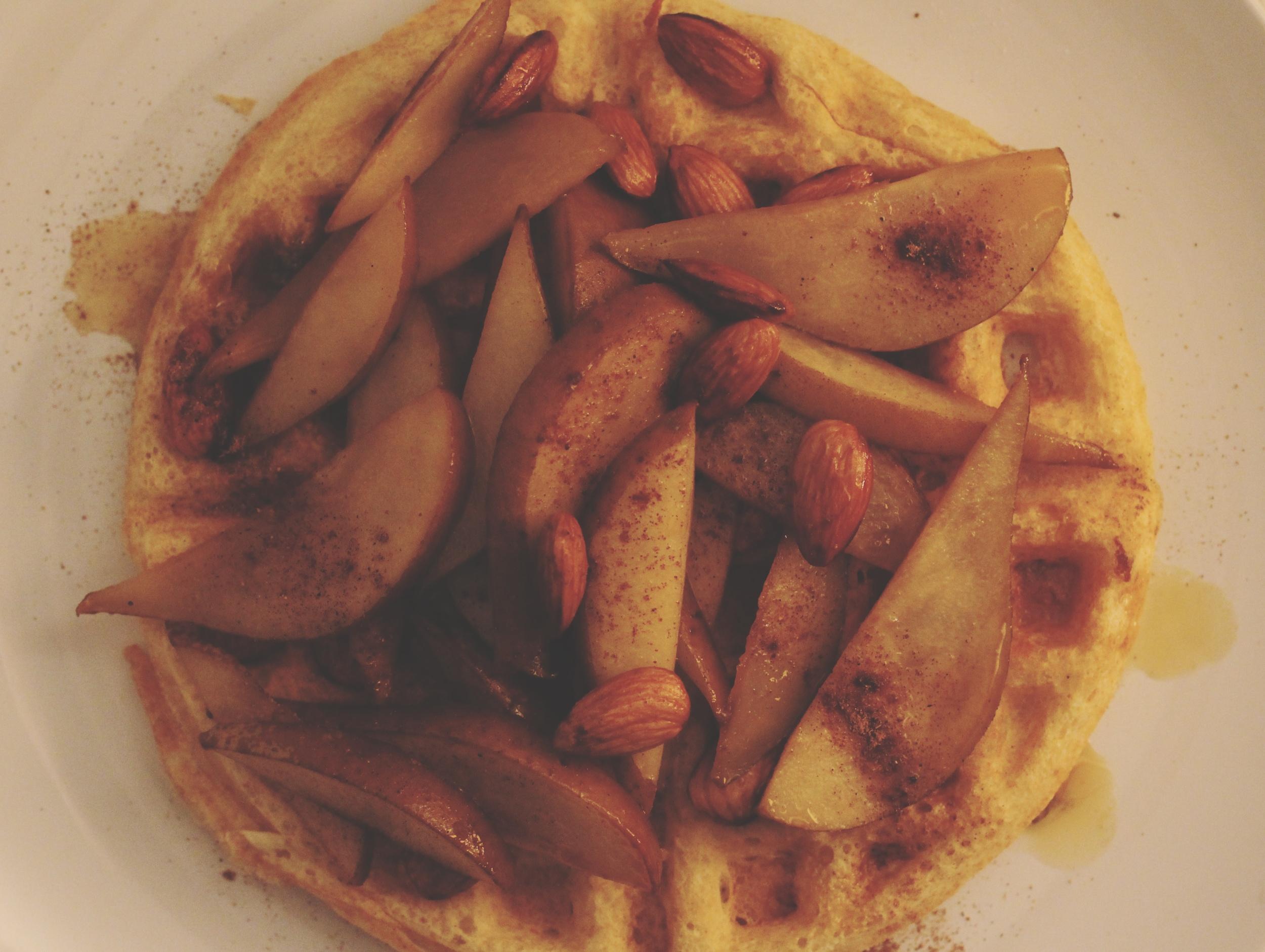 pears waffle
