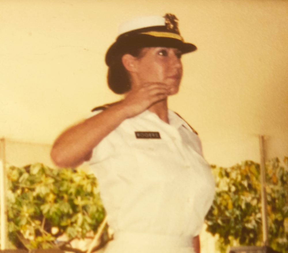 Courtenay Rogers Commissioned Officer