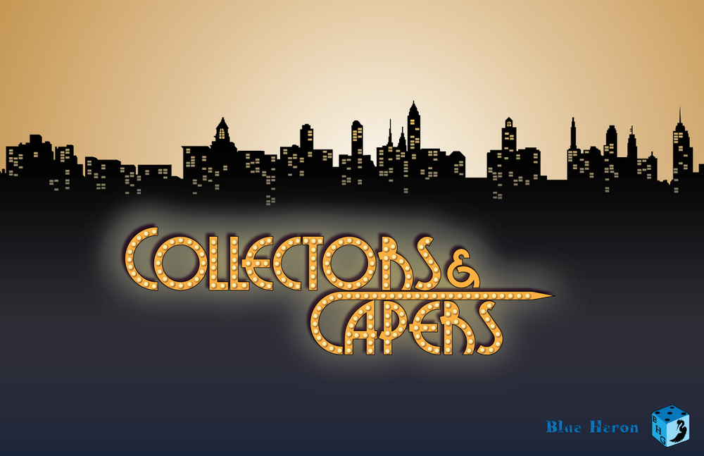 Collectors and Capers Logo May 2016 (C) Blue Heron Entertainment