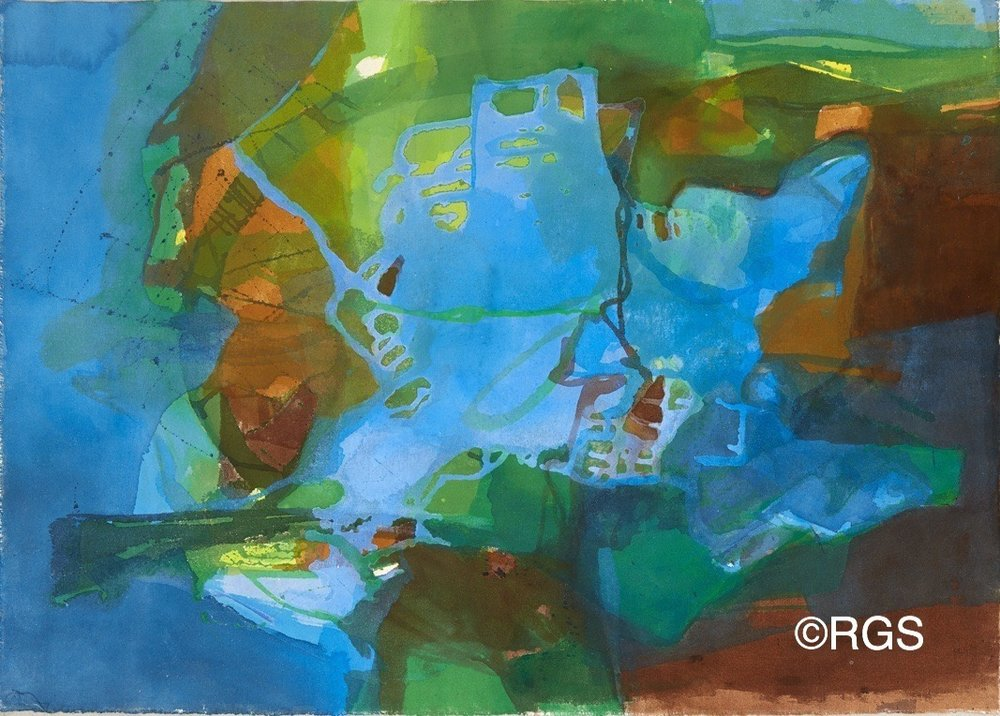 #8B - Abstract Series26.75 x 38UnstretchedLos Angeles