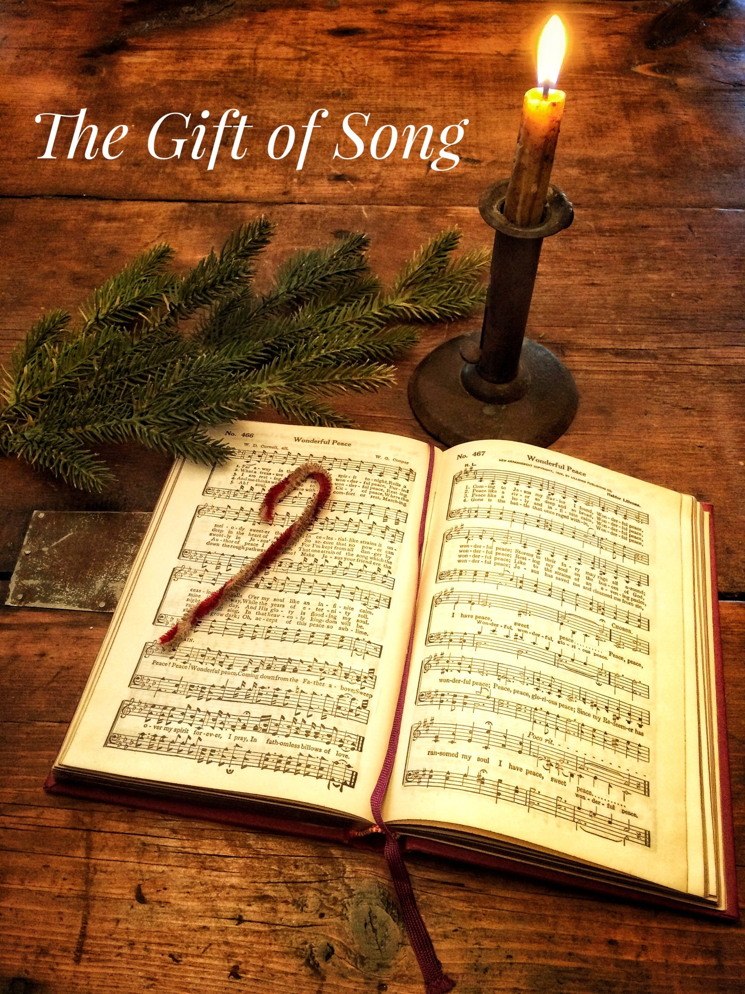 The Gift of Song: A Christmas Message — Peace Matters