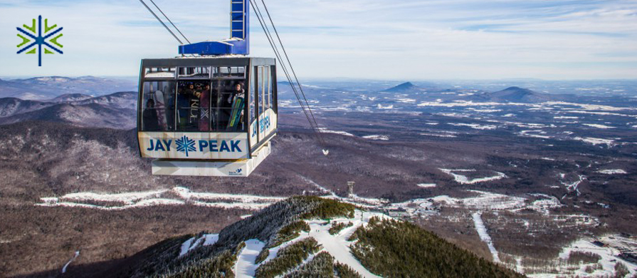 Jay Peak: Jay Peak is our northernmost resort meaning lots of snow and lots of Quebs.  Jay is home to the only Aerial Tram in the area making it extremely easy to ski top to bottom runs all day. While it may get a little cold up there, Jay's backcountry powder skiing rivals any other mountain in Vermont.