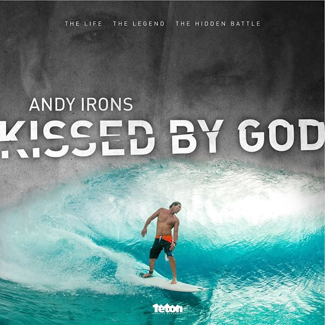 "WND & WVS is hosting an encore screening of the @tetongravity film ""Andy Irons: Kissed by God"". The showing will take place at the @burlingtonsurfclub in Burlington, VT. Doors open at 7:30, Film at 8:30 (sunset)."