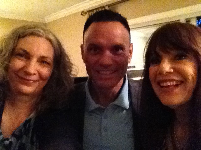 "With the super sharp ""Shark Tank"" original Kevin Harrington, and the stunning ""Passionist"" Janet Attwood. Among other accomplishments by these two, Kevin invented the ""Infomercial"" and Janet is a world-renowned speaker and creator of The Passion Test"