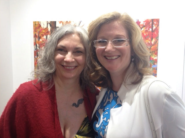 As always, my beautiful friend and long-time well-respected radio personality Christina Rowsell is looking stunning at a gallery opening (Michelangelo Gallery of Fine Art)! Such a radiant personality - a lovely woman, inside and out!