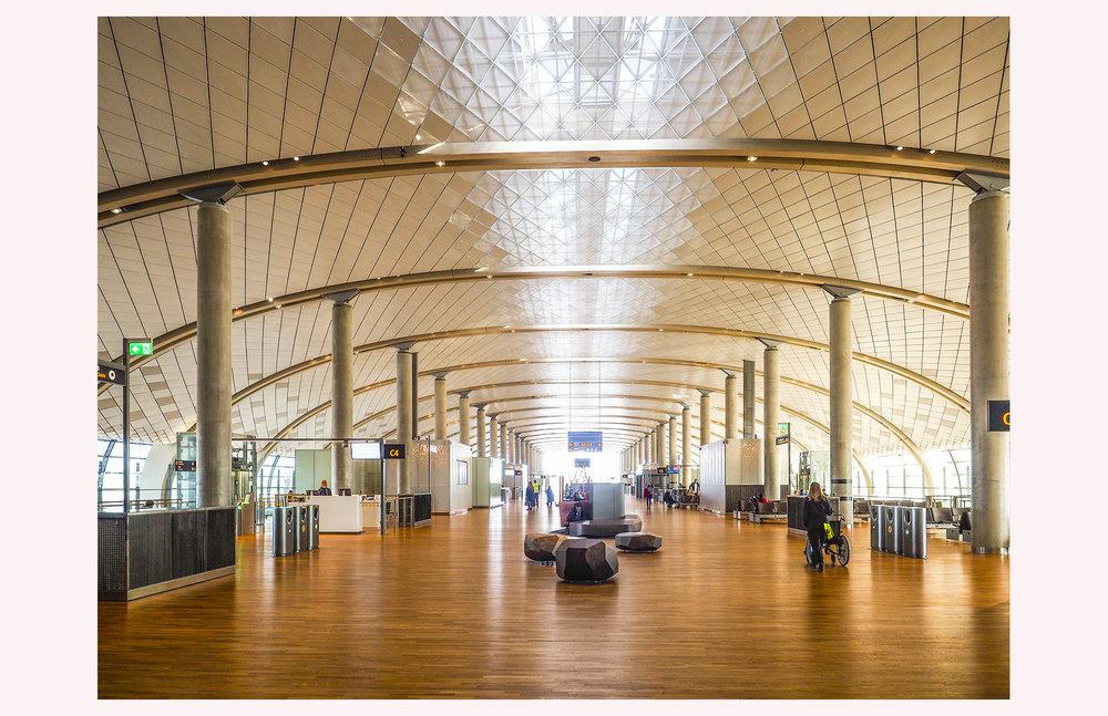 architecture Oslo Lufthavn