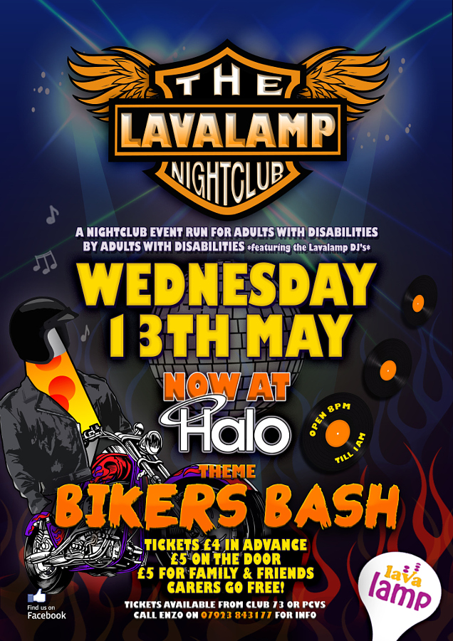 Lavalamp Nightclub Poster May A