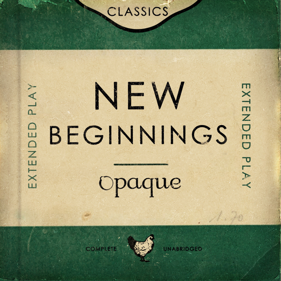 New Beginnings EP Front Cover square