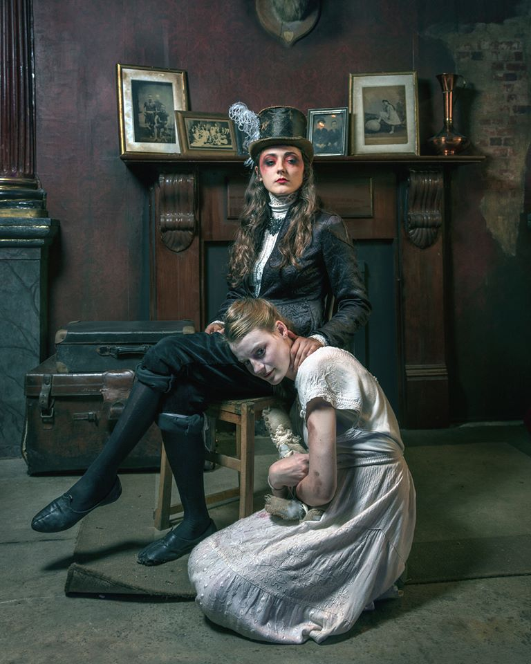 Jordan Chandler and Jordan Cooper as Elizabeth and Louisa