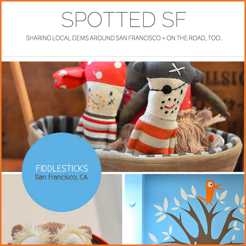Spotted SF: Hayes Valley Fiddlesticks