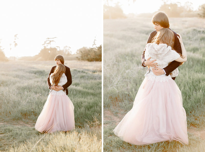Santa Cruz destination sunset wedding photos