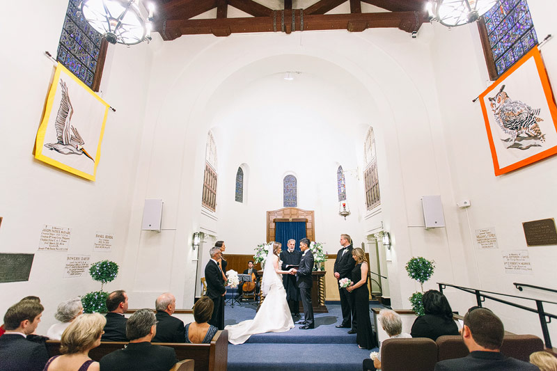 Presidio chapel wedding photographer