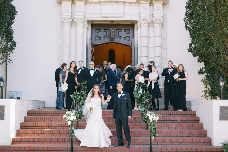 Wedding photos Presidio chapel