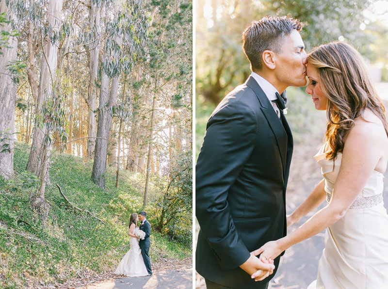 san francisco Presidio chapel Wedding photos