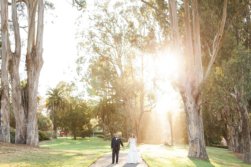 Presidio social club wedding photos