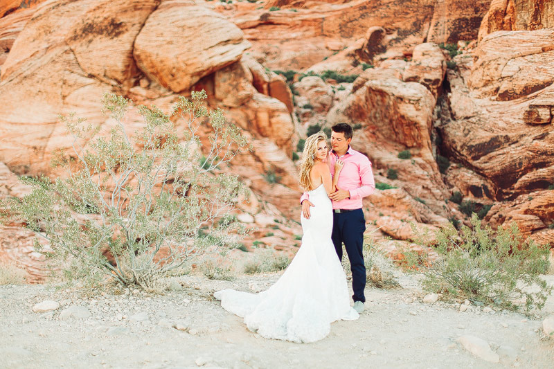 Red Rocks Nevada Wedding Photography