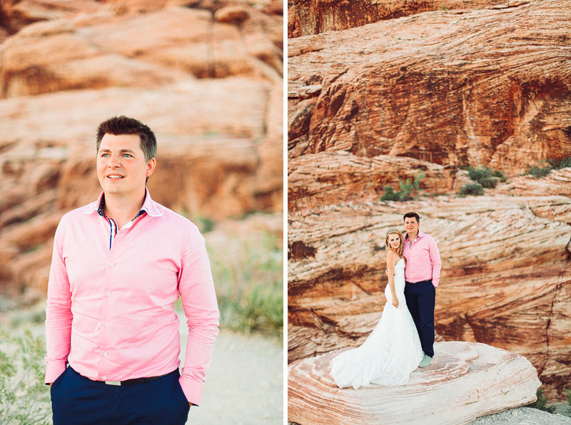 Red Rocks Elopement photos