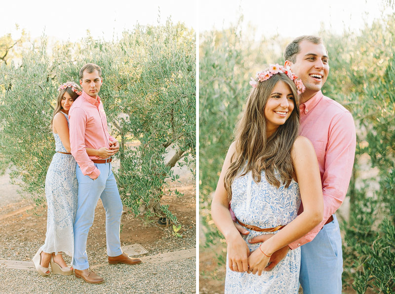 Professional engagement photographer Napa