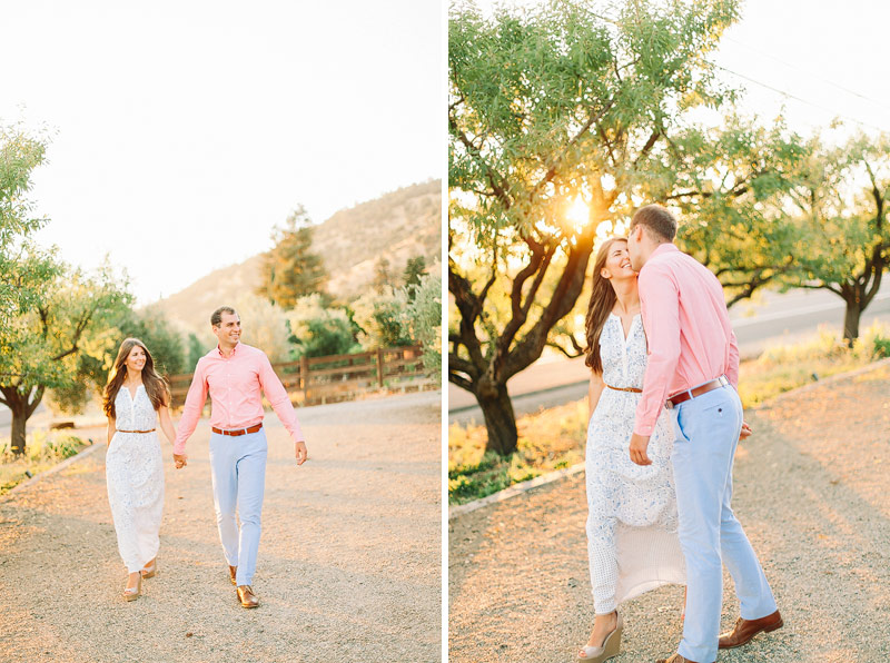 Wine Country engagement photos