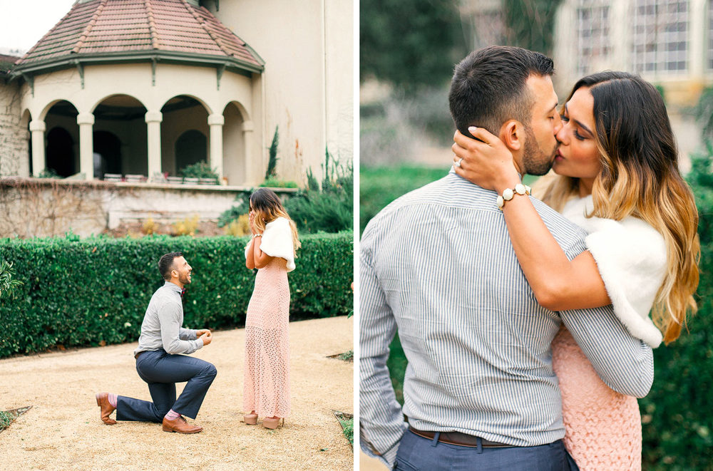 Chateau St Jean Engagement Photographer