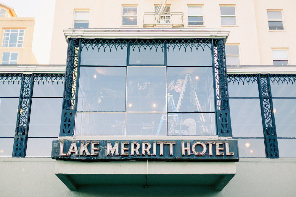 Lake Merritt Hotel Wedding Photos