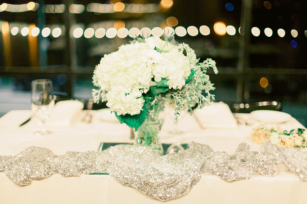 The Terrace Room Wedding Ceremony Flowers