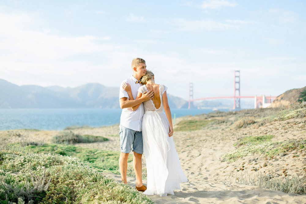 Baker Beach Engagement Photos