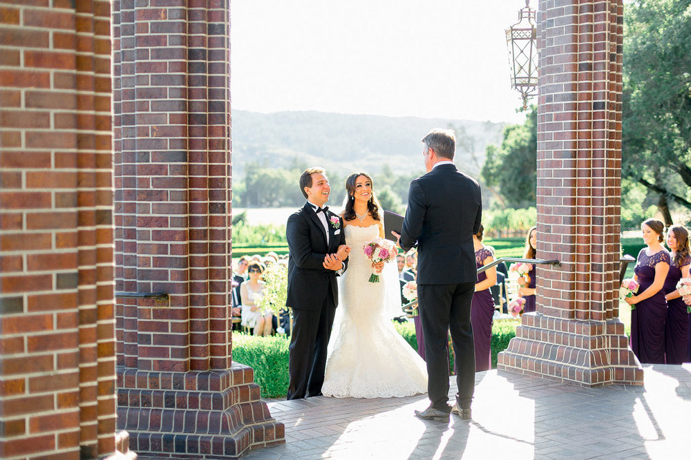 Ledson Winery Wedding Ceremony