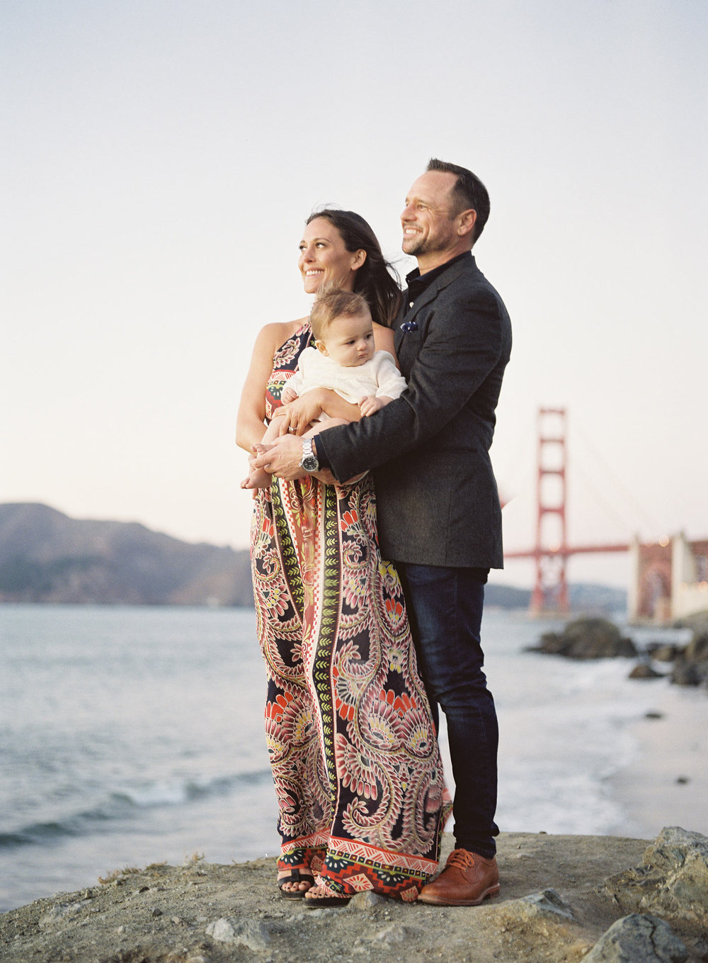San Francisco Family Photographer Golden Gate Bridge