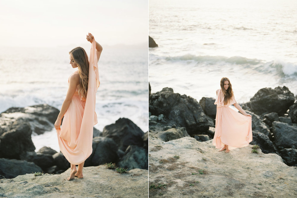 Marshall's Beach Bridal Photo Session