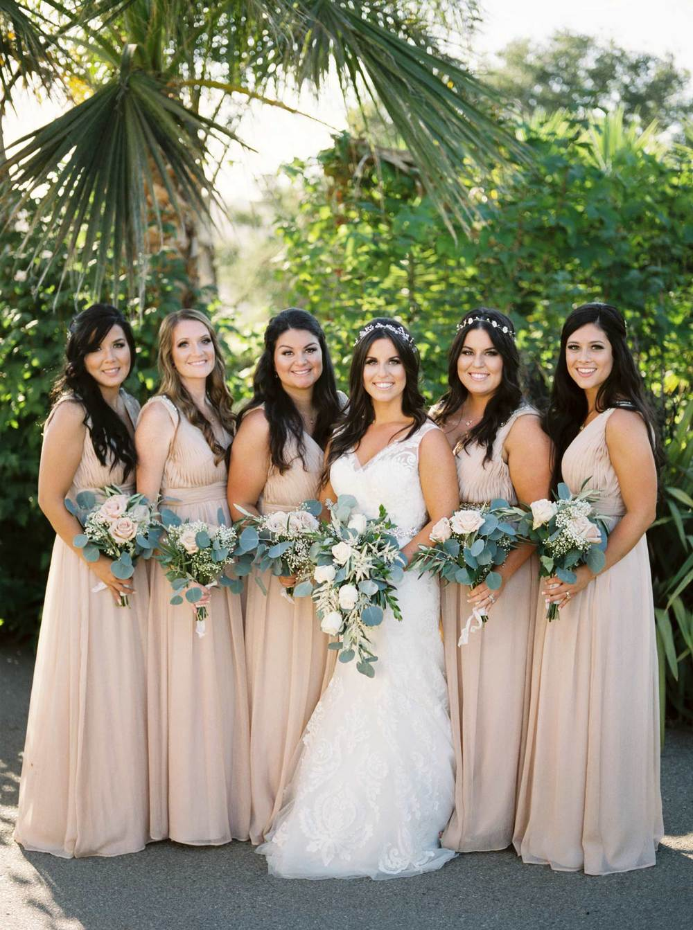 Santa Cruz Wedding Party Photos