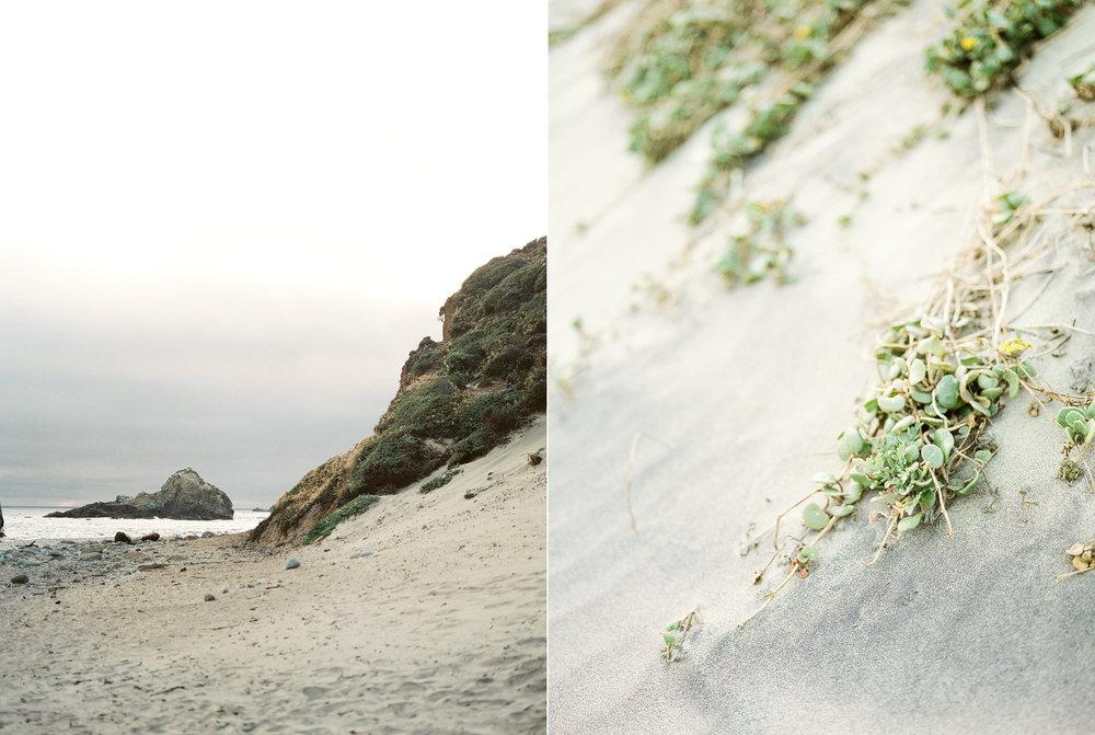 California Engagement Location in Big Sur