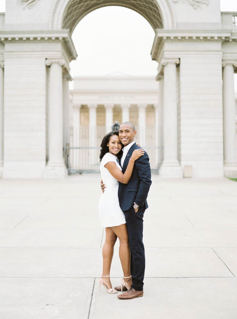 Legion Of Honor Engagement Photos
