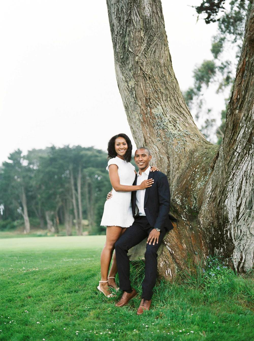 San Francisco Legion Of Honor Engagement Photographer