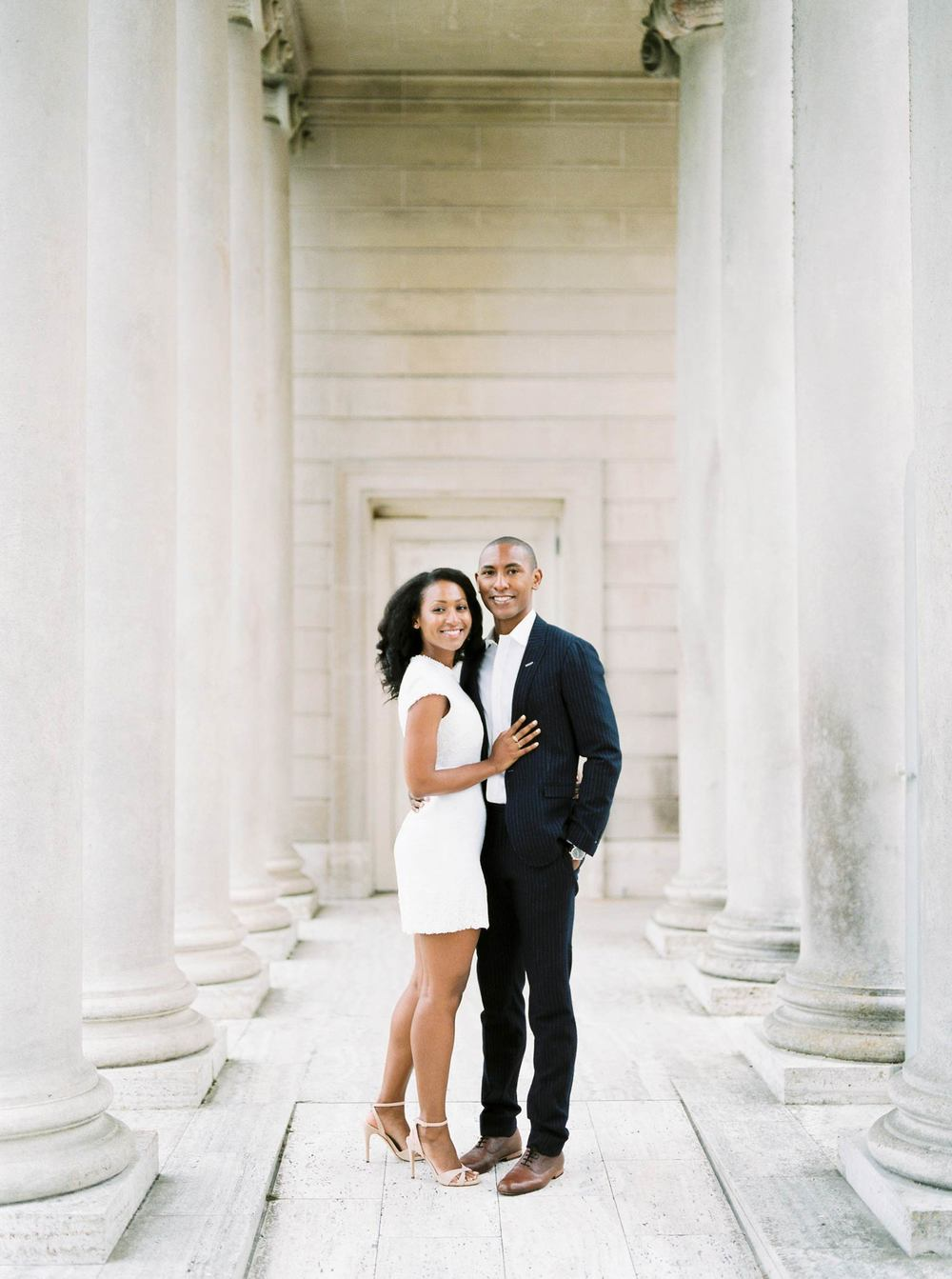 San Francisco Legion Of Honor Engagement Photography