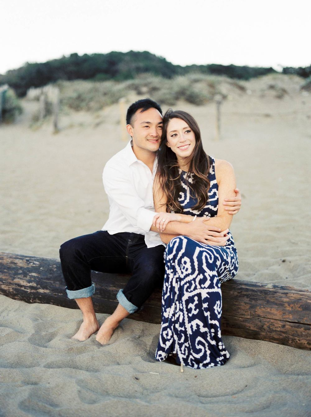 Baker Beach Fine Art Engagement Photos