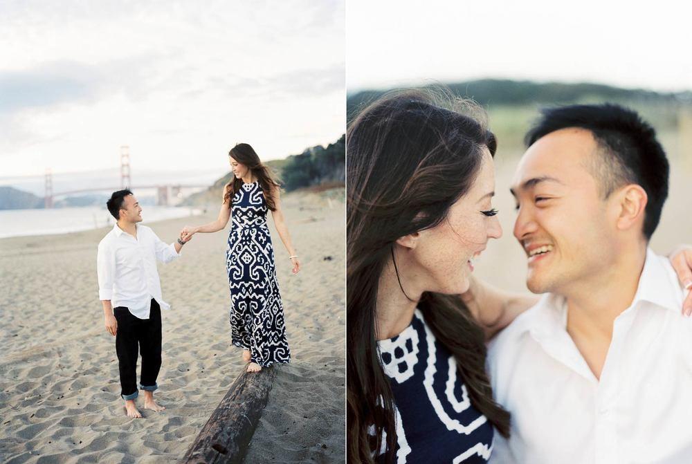 Baker Beach Engagement Photos