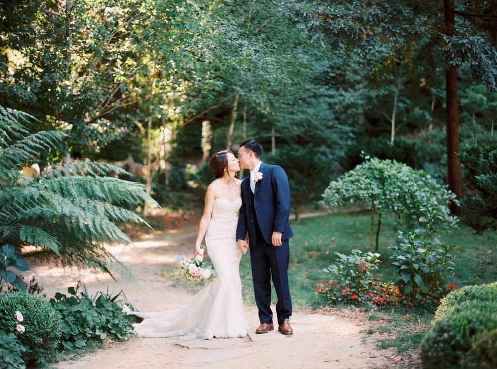 Nestldown wedding couple