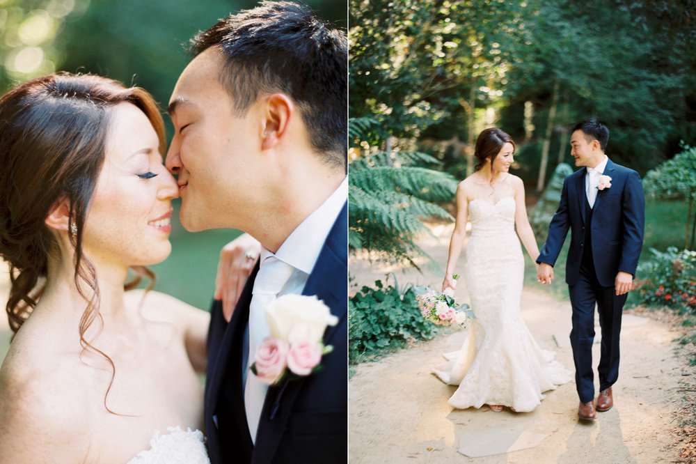 wedding photos Nestldown
