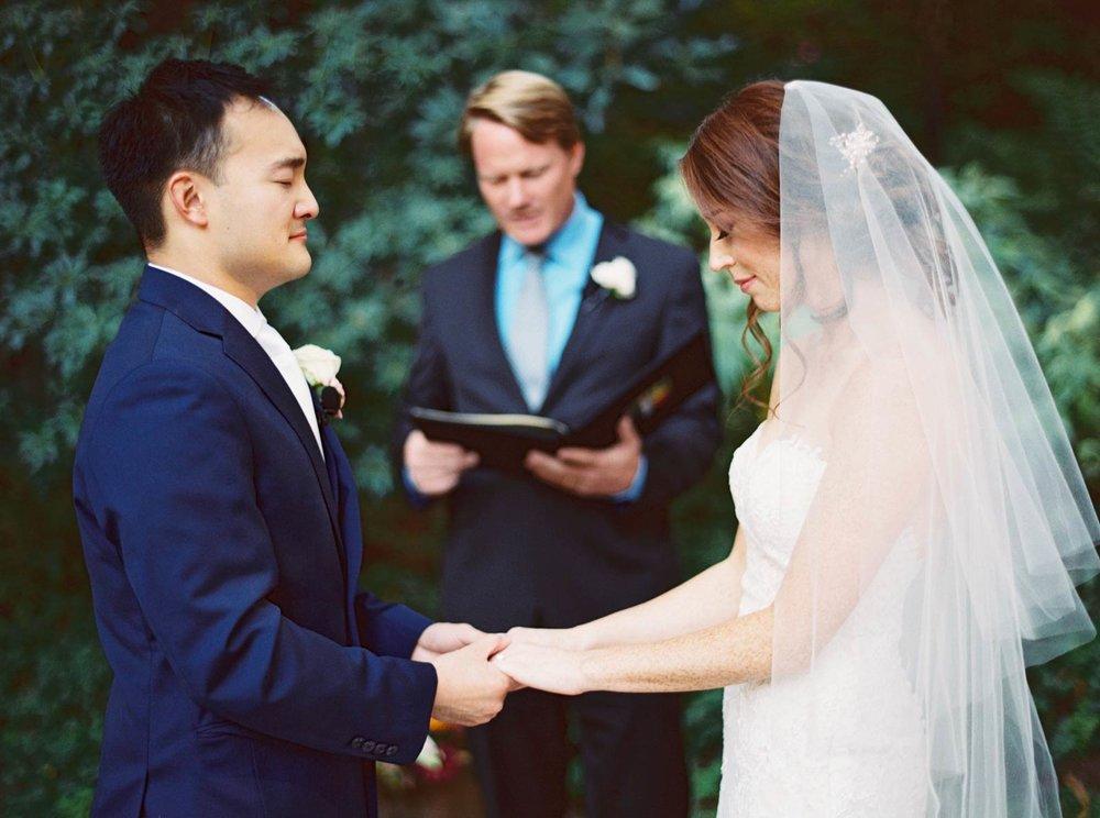 wedding ceremony Nestldown